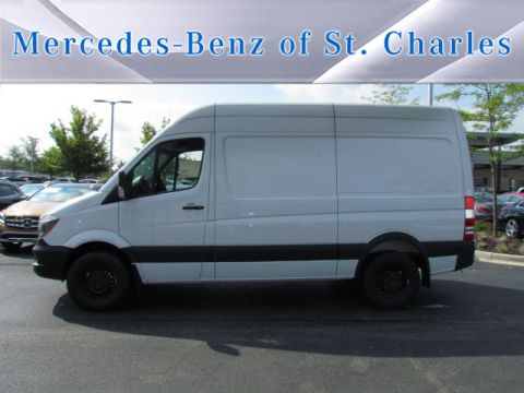 New Mercedes-Benz Sprinter 2500 Worker Cargo Van