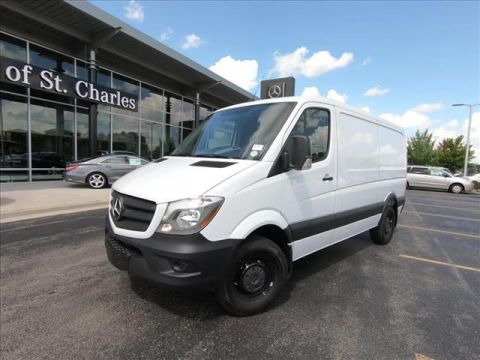 New 2018 Mercedes-Benz Sprinter 2500 Worker Cargo Van