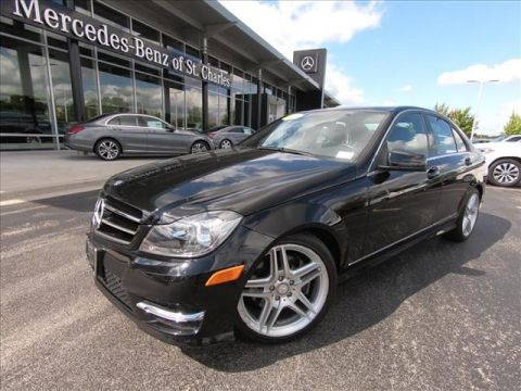 Pre-Owned 2013 Mercedes-Benz C-Class 4DR SDN C 300 C 30