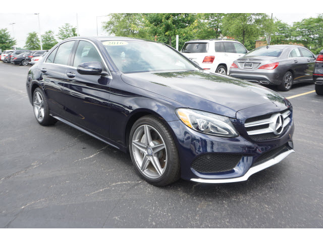 Certified Pre Owned 2016 Mercedes Benz C Cl 4dr Sdn 300 4mat