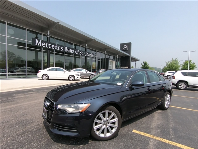 Pre-Owned 2013 Audi A6 2.0T quattro Premium Plus
