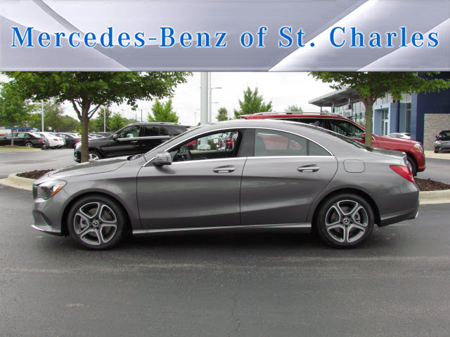New 2018 mercedes benz cla cla 250 coupe in st charles for Mercedes benz cla 250 msrp