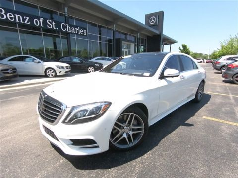 Certified Pre-Owned 2015 Mercedes-Benz S-Class S 550 4MATIC®